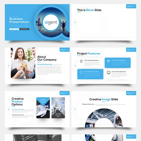 Powerpoint design get custom powerpoint design templates online illustration by hislides toneelgroepblik Images