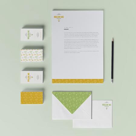 stationery design not stationary design business stationery